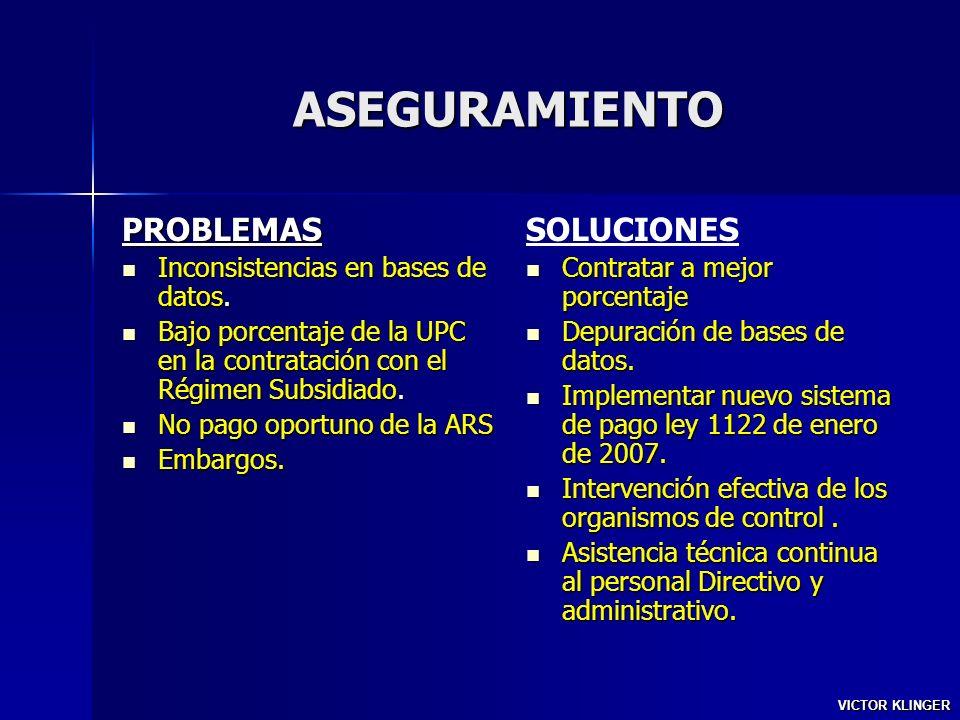 SALUD PUBLICA PROBLEMAS Horizontalizacion del NBI.