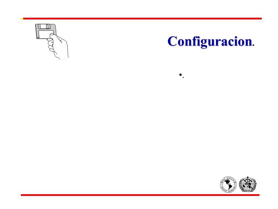 Configuracion. Configuracion..