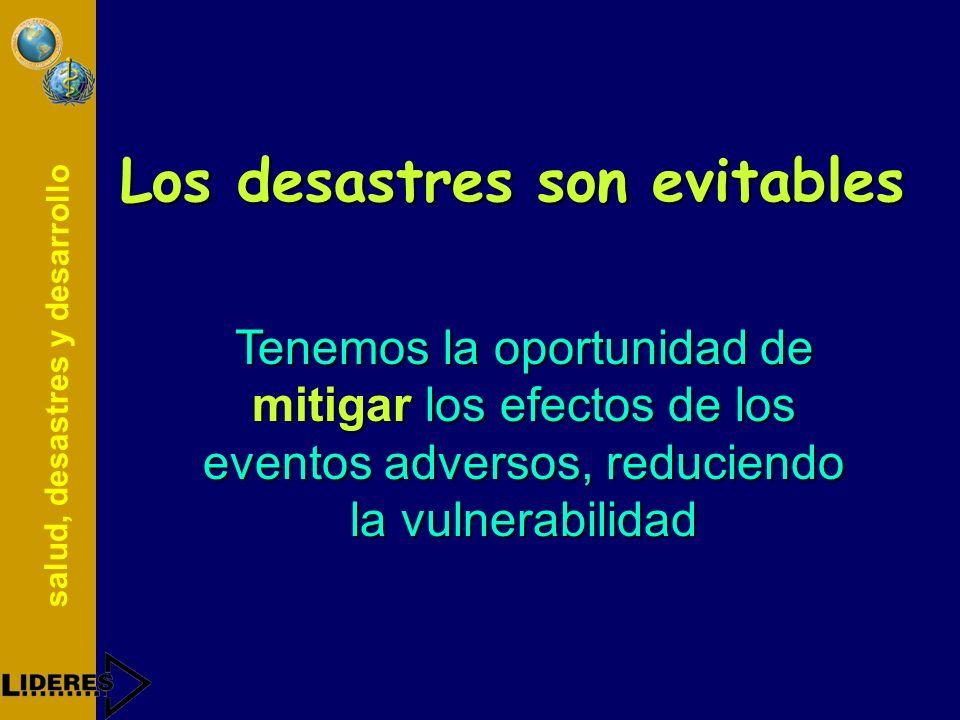 salud, desastres y desarrollo Ejecución del Plan Ejercicio de simulaciónEjercicio de simulación SimulacroSimulacro Emergencia / desastreEmergencia / d