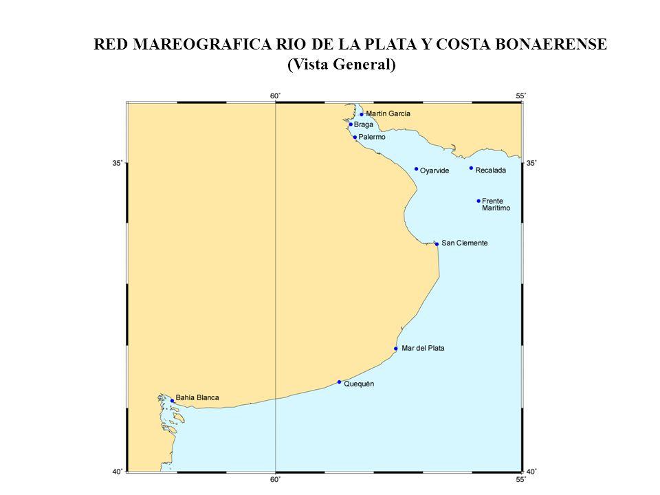 RED MAREOGRAFICA RIO DE LA PLATA Y COSTA BONAERENSE (Vista General)