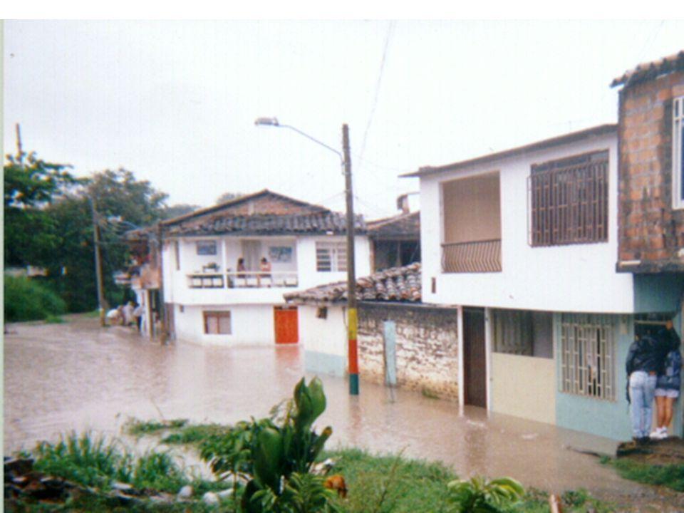 Hidrometeorológicos (Inundaciones) LOS DESASTRES EN COLOMBIA EVENTOS MAS IMPORTANTES