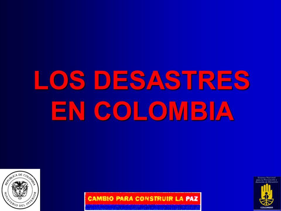 SISTEMA NACIONAL PARA LA PREVENCIÓN Y ATENCIÓN DE DESASTRES