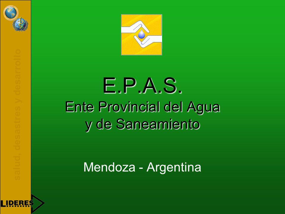 salud, desastres y desarrollo E.P.A.S.