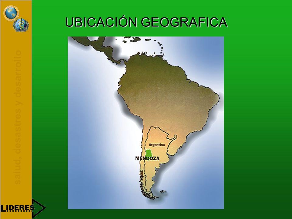 salud, desastres y desarrollo E.P.A.S. Ente Provincial del Agua y de Saneamiento Mendoza - Argentina