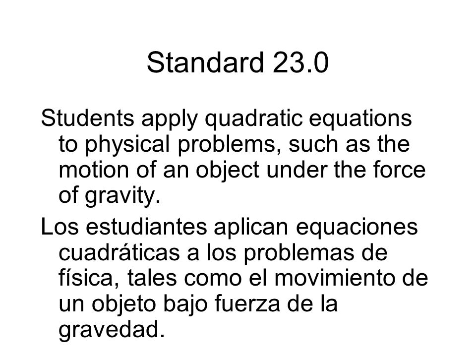 Vocabulary To complete the square of the expressions x 2 + bx, add the square of half the coefficient of x.
