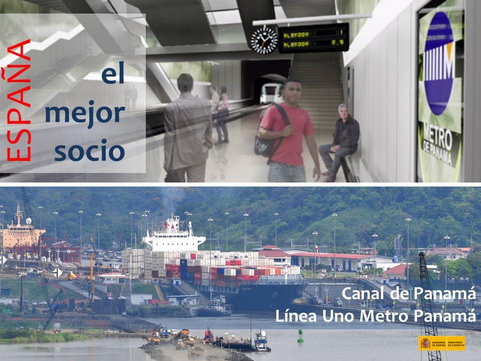 Canal de Panamá Línea Uno Metro Panamá el mejor socio ESPAÑA