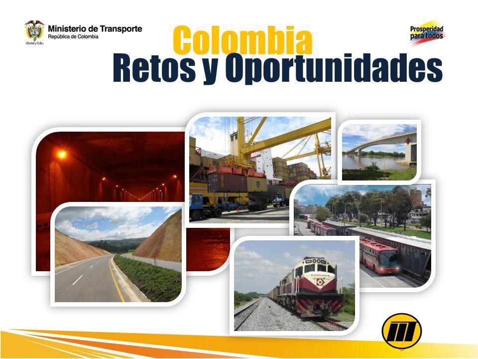 Inversión del cuatrienio $48,1 billones que generan 249.066 empleos directos INVERSIÓN EN EL SECTOR Fuente: DNP, Ministerio de Transporte.