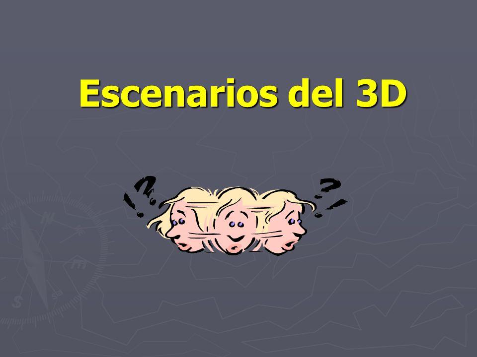 Escenarios del 3D