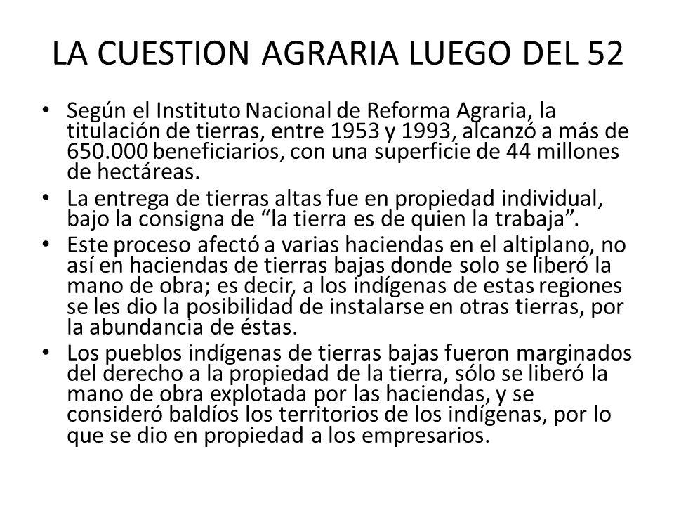 Artículo 30, parágrafo II, numeral 5: Las naciones y pueblos indígena originario campesinos tienen derecho: A la libre determinación y territorialidad.