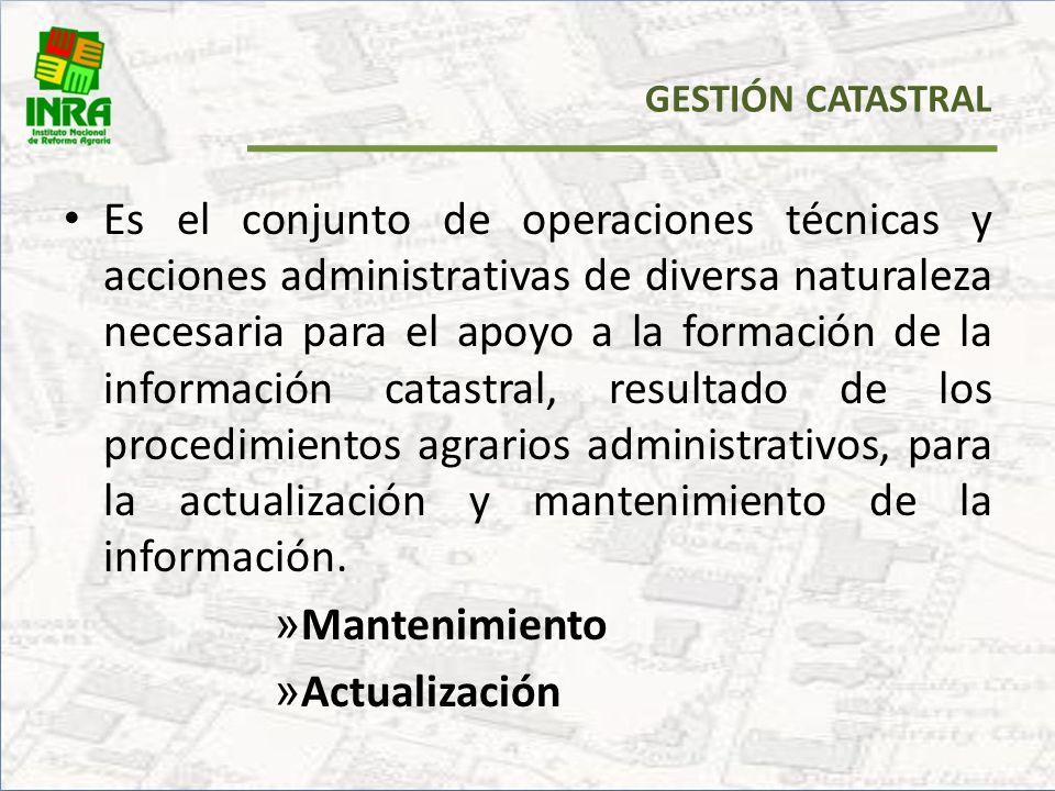 Res. Adm. 246/2010, 22 de julio de 2010 Resolución Administrativa que aprueba el MANUAL DE MANTENIMIENTO Y ACTUALIZACIÓN DEL CATASTRO RURAL