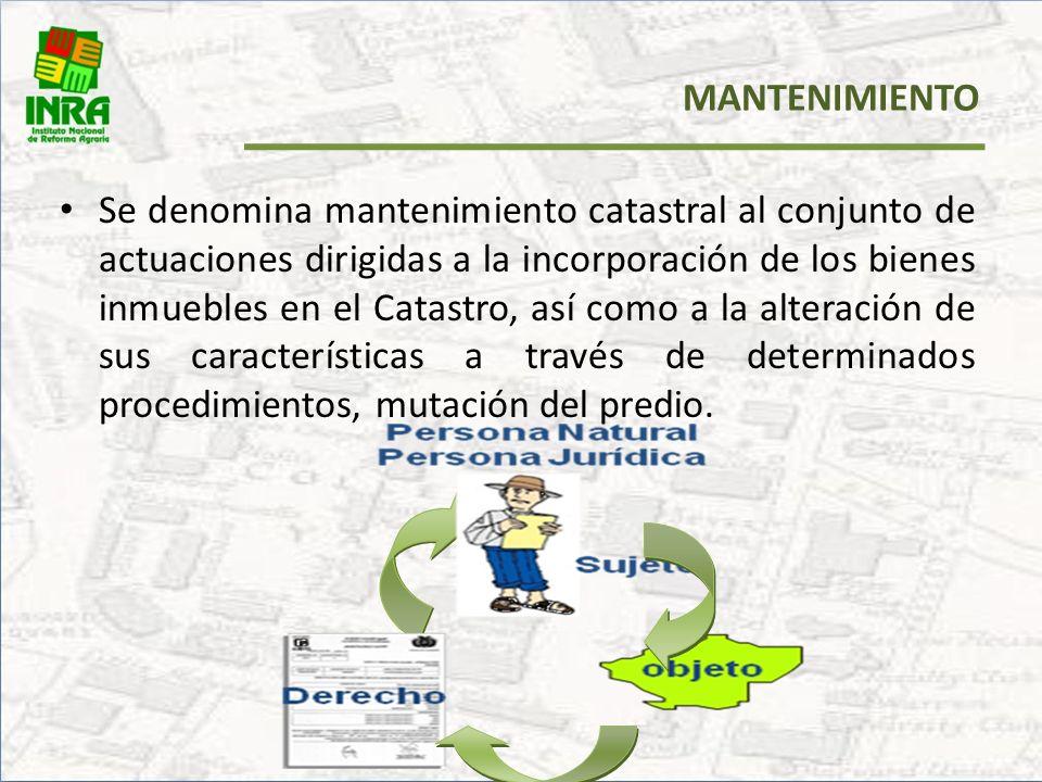 GESTIÓN CATASTRAL Es el conjunto de operaciones técnicas y acciones administrativas de diversa naturaleza necesaria para el apoyo a la formación de la