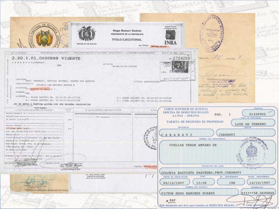 CERTIFICADO DE PROPIEDAD NO RURAL Trámite de Certificación de propiedad No rural (Carta o Formulario INRA) Certificado del municipio correspondiente q