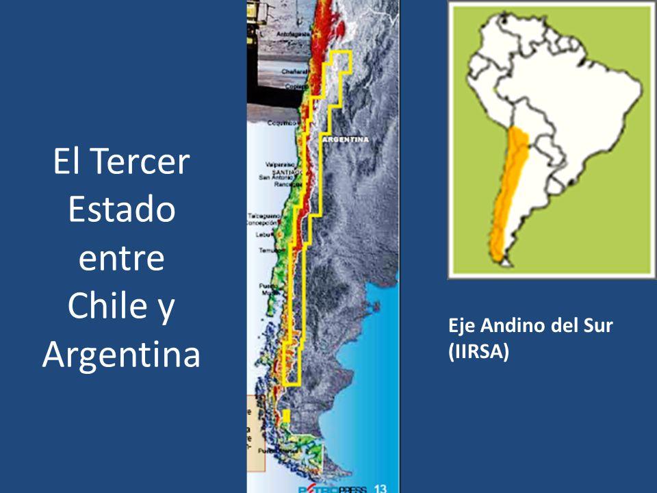 El Tercer Estado entre Chile y Argentina Eje Andino del Sur (IIRSA)