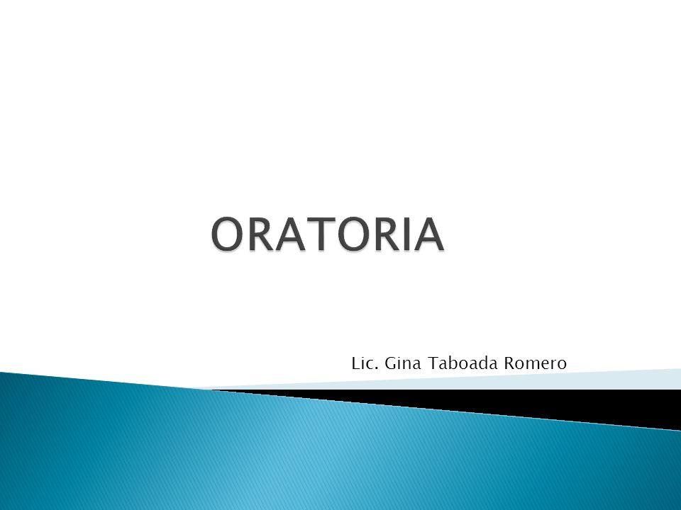 Lic. Gina Taboada Romero