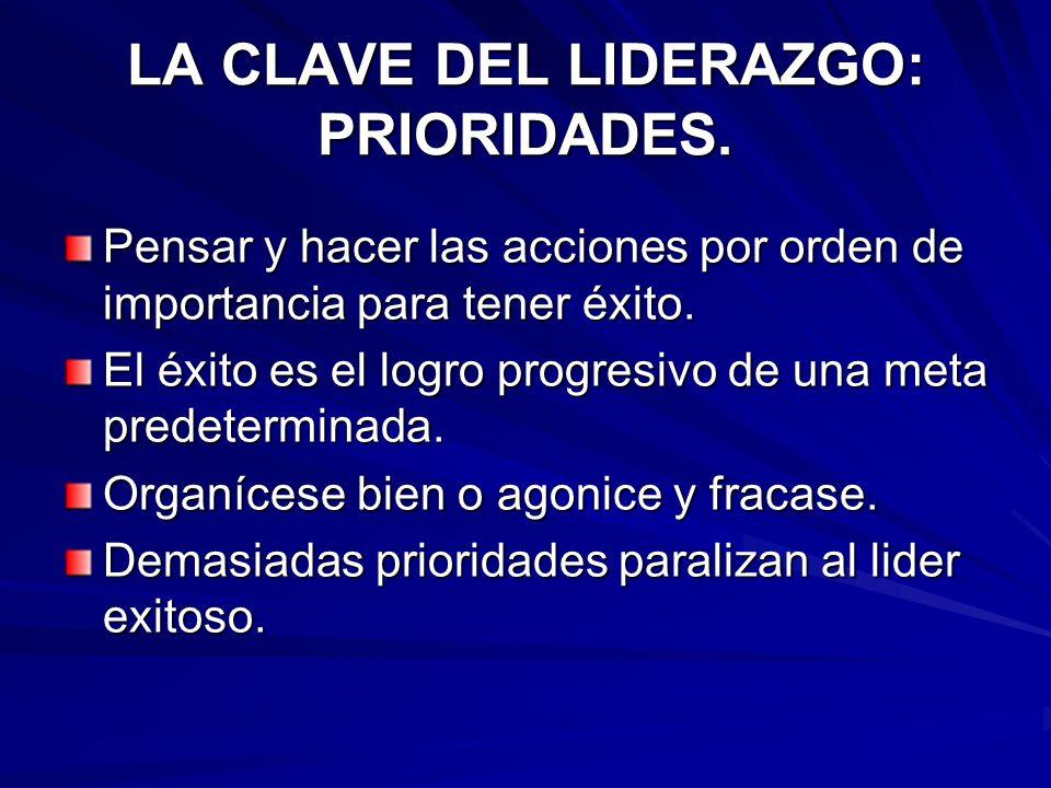 ELEMENTO MÁS IMPORTANTE DEL LIDERAZGO: INTEGRIDAD.