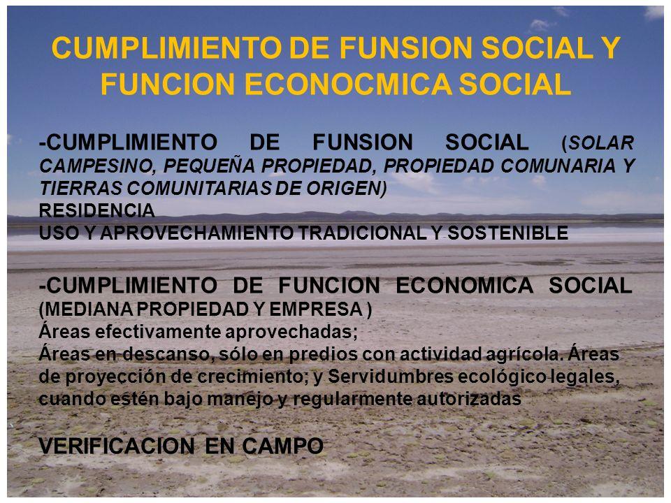 REVERSION Y EXPROPIACION CAUSAL DE REVERSION Incumplimiento de la FES Y FS CAUSAL DE EXPROPIACION UTILIDAD PUBLICA