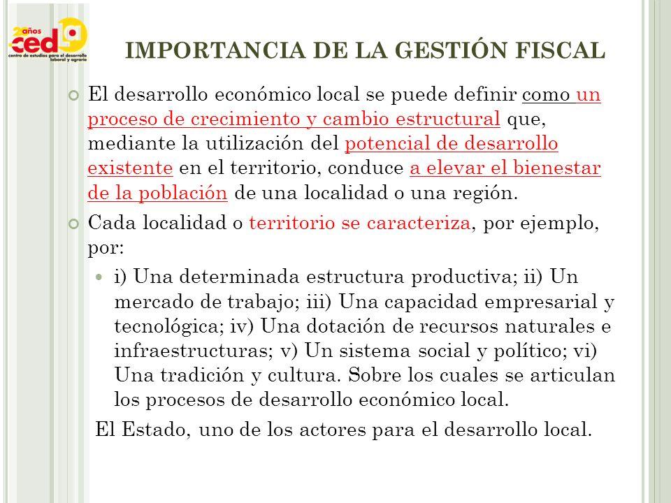 LA IMPORTANCIA DEL ENFOQUE DE TRANSPARENCIA PRESUPUESTARIA
