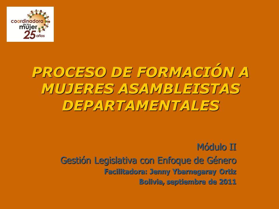 MÓDULO II GESTIÓN LEGISLATIVA CON ENFOQUE DE GÉNERO Presentación Nº 3: Tema 2: Normativa internacional y nacional a favor de las mujeres