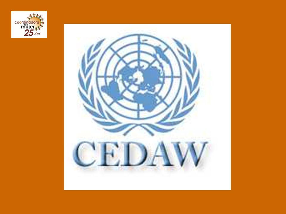 Importancia de la CEDAW La Convención Sobre la Eliminación de Todas las Formas de Discriminación contra la Mujer (CEDAW, por sus siglas en inglés) fue adoptada y abierta a la firma y ratificación o adhesión por la Asamblea General de las Naciones Unidas el 18 de diciembre de 1979 (resolución 34/180) y entró en vigor el 3 de septiembre de 1981.