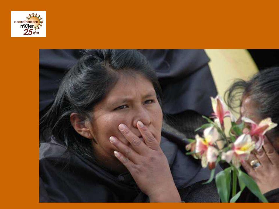 Convención de Belem do Pará La Convención interamericana para prevenir, sancionar y erradicar la violencia contra la mujer (Belem do Pará) La Convención interamericana para prevenir, sancionar y erradicar la violencia contra la mujer (Belem do Pará) suscrita en el XXIV Período Ordinario de Sesiones de la Asamblea General de la OEA, suscrita en el XXIV Período Ordinario de Sesiones de la Asamblea General de la OEA, en Belém do Pará, Brasil, 6 al10 junio de 1994 en Belém do Pará, Brasil, 6 al10 junio de 1994 ratificada mediante Ley Nº 1599 de 18 de agosto de 1994 por Bolivia, ratificada mediante Ley Nº 1599 de 18 de agosto de 1994 por Bolivia, es el instrumento específico más importante para la lucha contra la violencia hacia las mujeres basada en género.