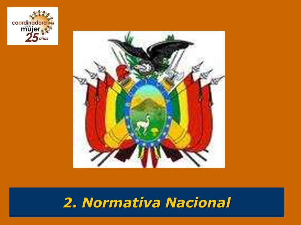 2.1. Movimientos y organizaciones de mujeres bolivianas