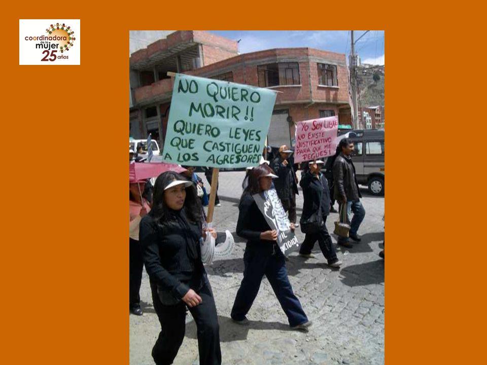 Normativa internacional a favor de las mujeres reconocida y ratificada por Bolivia