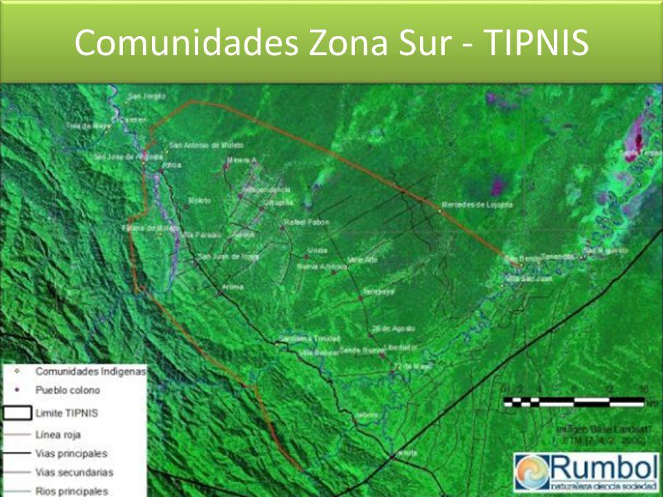 Comunidades Zona Sur - TIPNIS