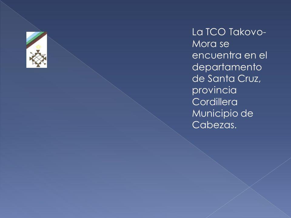 La Capitanía Takovo-Mora historialmente forma parte del territorio ocupado por la nación guaraní, desde antes de la colonia española.