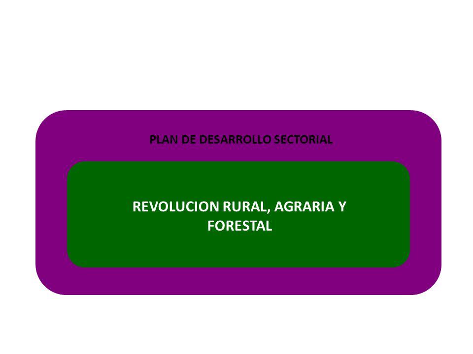 REVOLUCION RURAL, AGRARIA Y FORESTAL PLAN DE DESARROLLO SECTORIAL