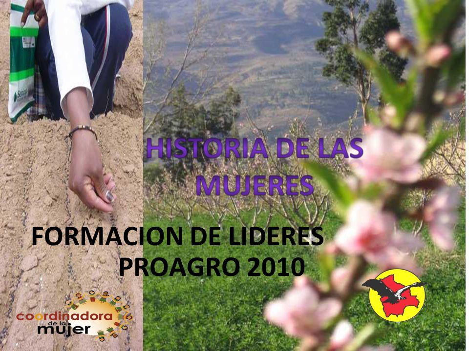 FORMACION DE LIDERES PROAGRO 2010
