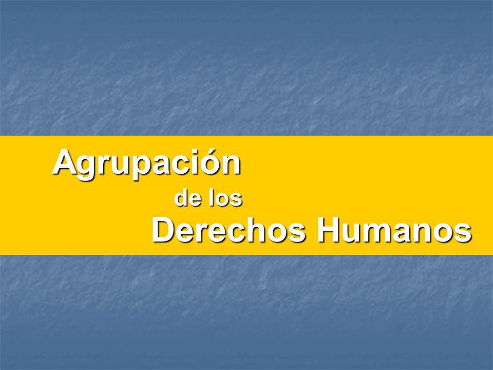 Agrupación Derechos Humanos de los
