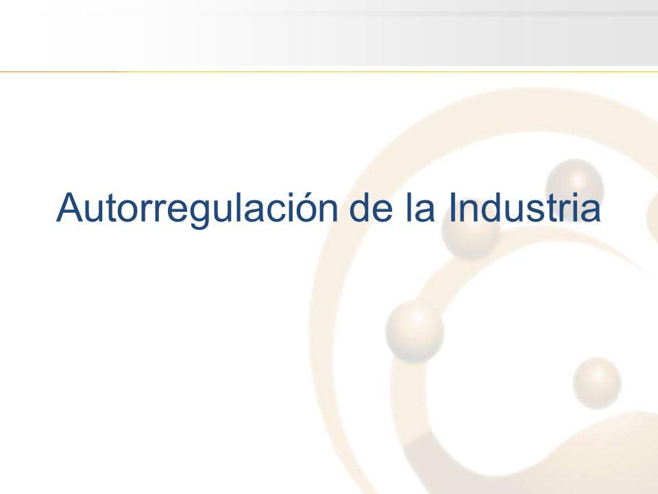 Autorregulación de la Industria