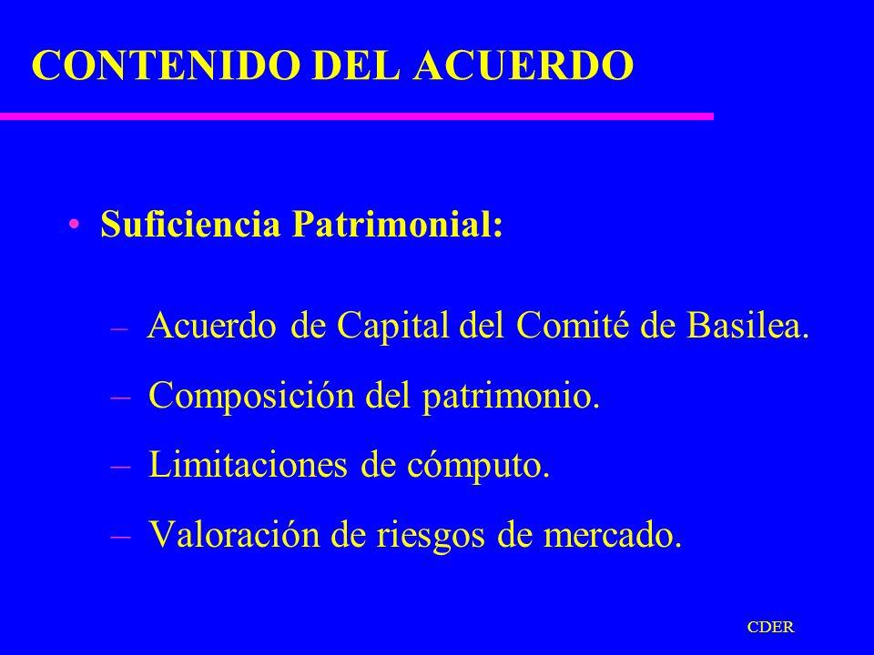 CDER DESARROLLO DEL PROYECTO Reuniones de Técnicos. (Quito, Lima) Reuniones de Superintendentes de Bancos. (Cartagena/bilaterales) Reuniones con parti