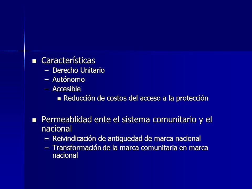 Características Características –Derecho Unitario –Autónomo –Accesible Reducción de costos del acceso a la protección Reducción de costos del acceso a