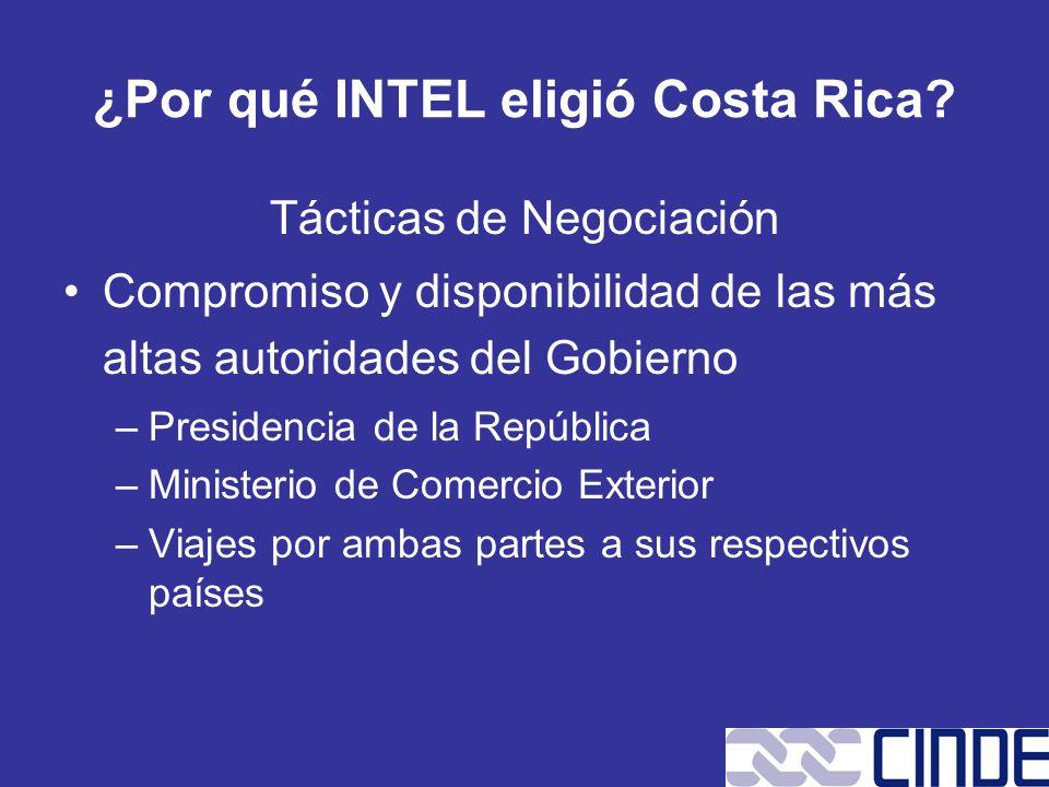 Tácticas de Negociación Compromiso y disponibilidad de las más altas autoridades del Gobierno –Presidencia de la República –Ministerio de Comercio Ext