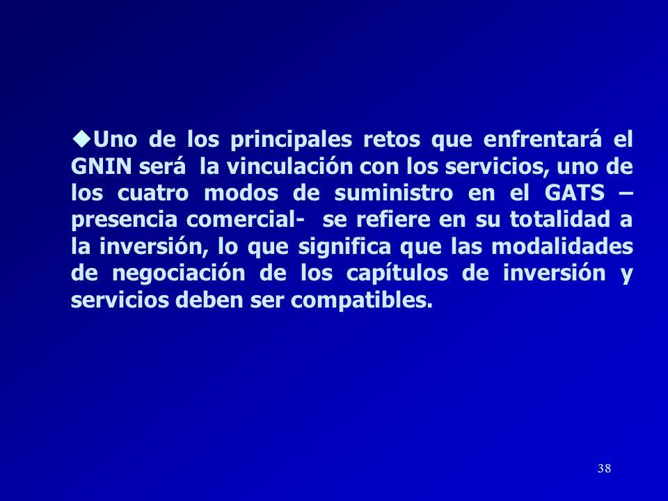 37 lUna de las instrucciones específicas contenidas en la Declaración Ministerial de Buenos Aires al GNIN, consiste en la elaboración de sus recomenda