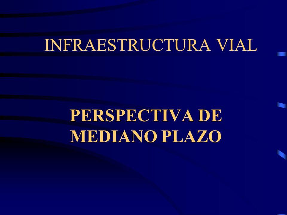 INFRAESTRUCTURA VIAL SITUACION ACTUAL Se ha rehabilitado las principales carreteras nacionales brindando accesibilidad a la mayor parte de ciudades de