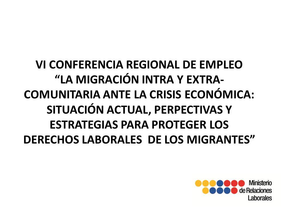 1.2.-Emigración en el Ecuador.- Emigrantes por sexo, según año de partida Tasas de desempleo y subempleo.- los países de América Latina y el Caribe, han experimentado un significativo crecimiento económico, la tasa de desempleo urbano continuó disminuyendo en el 2011 hasta alcanzar un 6,8%,, dado que se prevé que habrá una desaceleración del crecimiento económico regional.