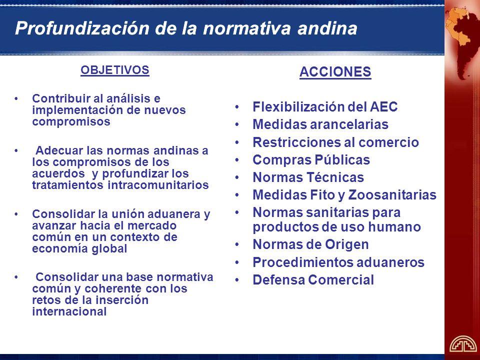 Programa de Apoyo de la Secretaría General a las Negociaciones Comerciales Internacionales de los Países Andinos - PANC – CAN – BID - CAF
