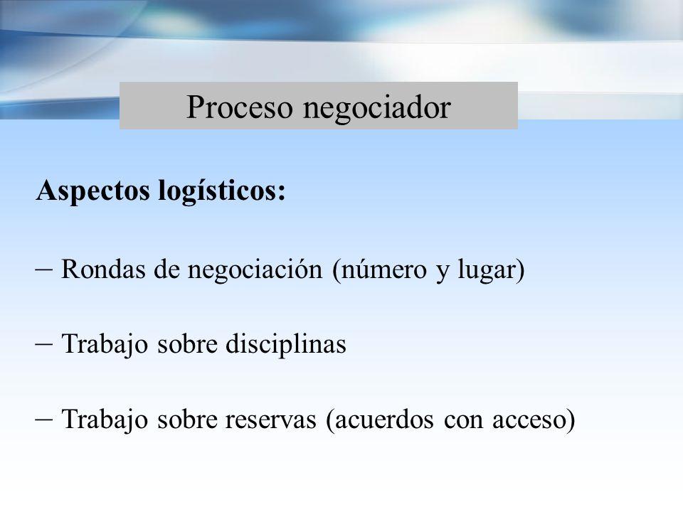 Proceso negociador Explicación del régimen de inversión vigente: – Mecanismos de inversión (aprobación) – Sistemas de control de los flujos de capital Flujos de inversión entre las Partes