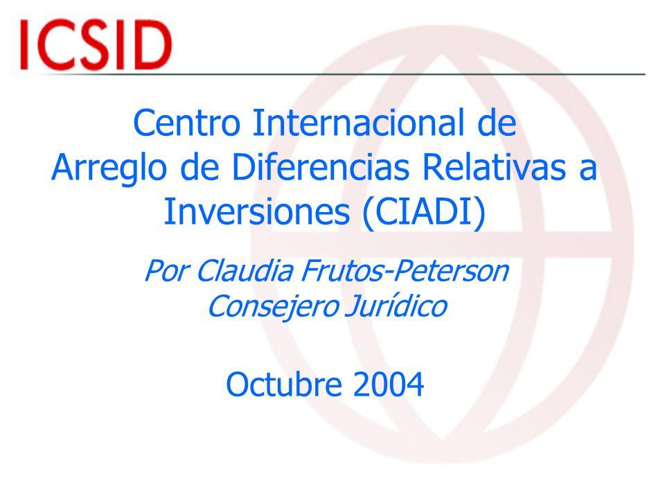 El efecto en el sistema del Mecanismo complementario TLCAN: 8 casos en contra de México (3 pendientes) 3 casos en contra de los Estados Unidos (concluidos) Tratados bilaterales de inversión: 5 casos (3 pendientes)