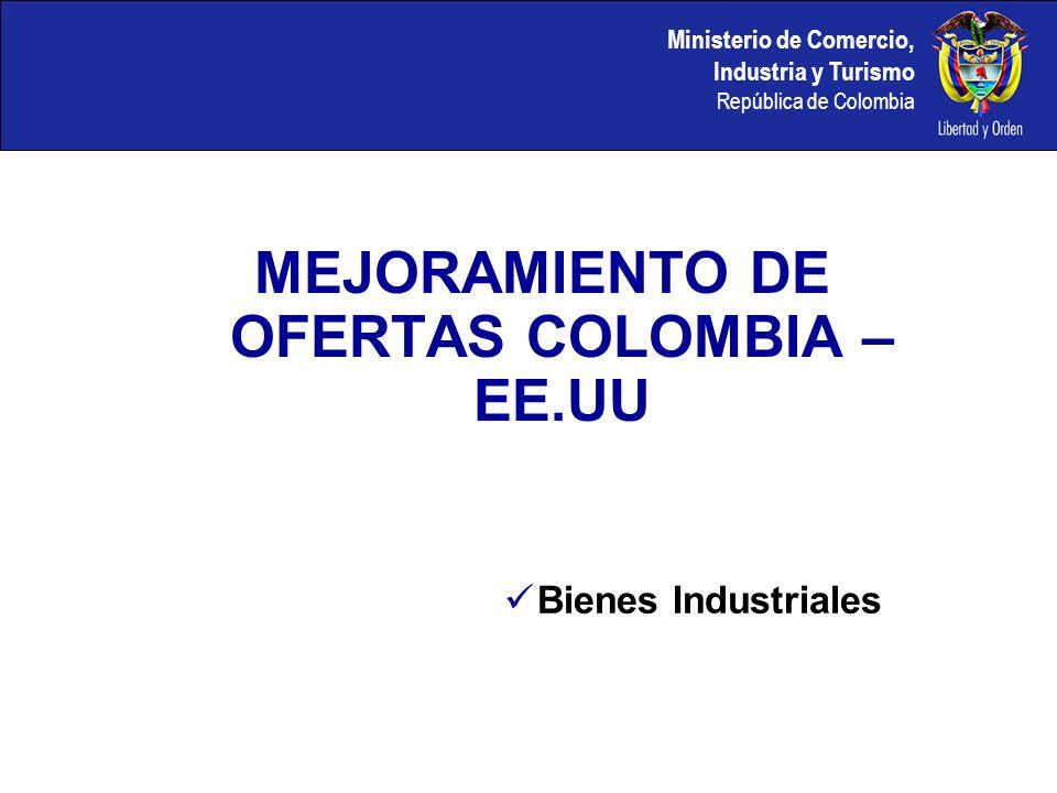 Ministerio de Comercio, Industria y Turismo República de Colombia PASOS A SEGUIR Preparación Ronda VII Cada mesa debe tener impresa la hoja de análisis de la matriz con todos los posibles intercambios para que el equipo tenga una clara visualización de los mismos.