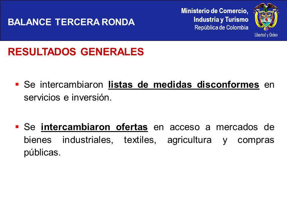Ministerio de Comercio, Industria y Turismo República de Colombia En Pymes: Se estableció Foro de Diálogo (Jefes Equipos Negociadores + representantes de Pymes) para cada ronda de negociación.