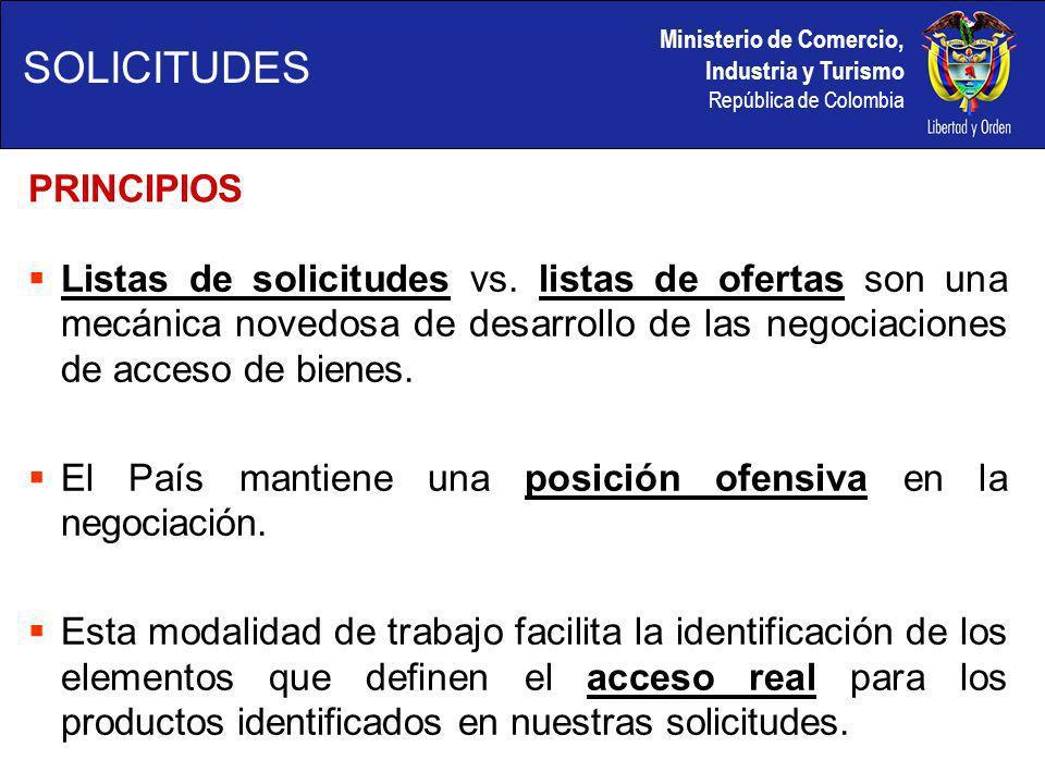 Ministerio de Comercio, Industria y Turismo República de Colombia PASOS A SEGUIR