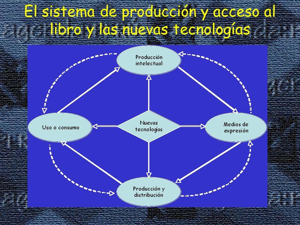 El sistema de producción y acceso al libro y las nuevas tecnologías