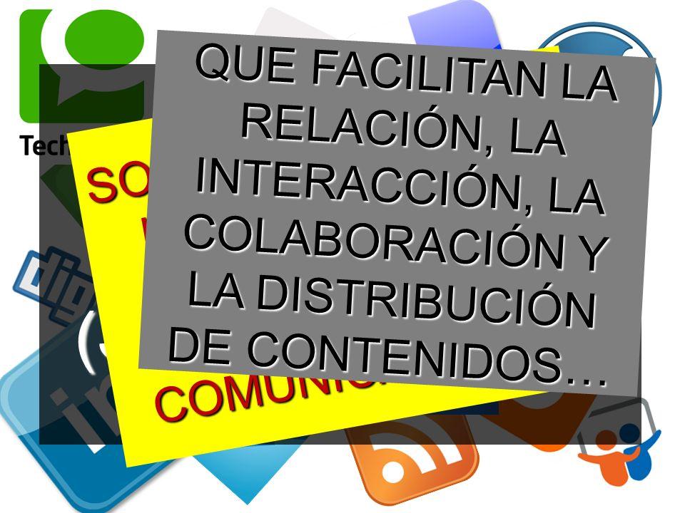 LOS MEDIOS SOCIALES (SOCIAL MEDIA).