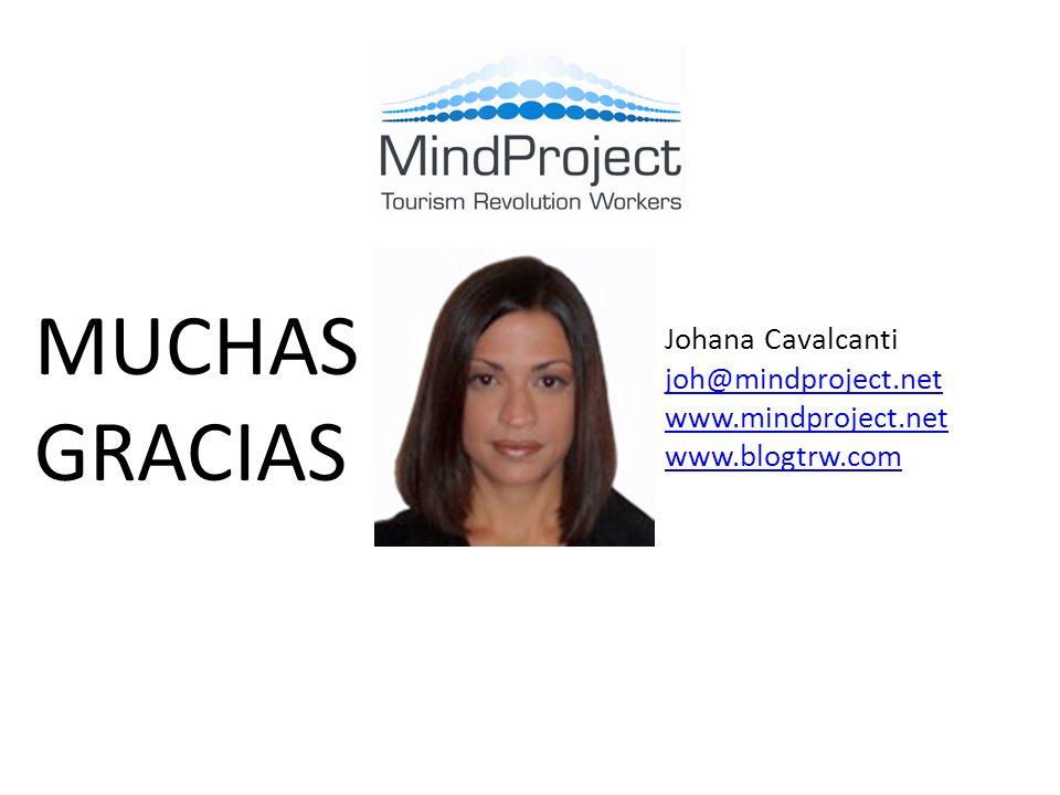 Johana Cavalcanti joh@mindproject.net www.mindproject.net www.blogtrw.com MUCHAS GRACIAS