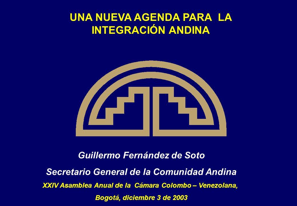 1.Balance de 34 años de integración 2. Evolución reciente del comercio colombo - venezolano 3.