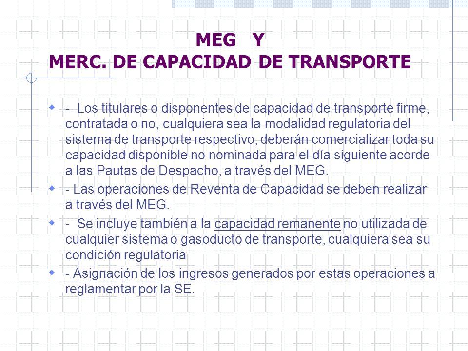 MEG Y MERC.