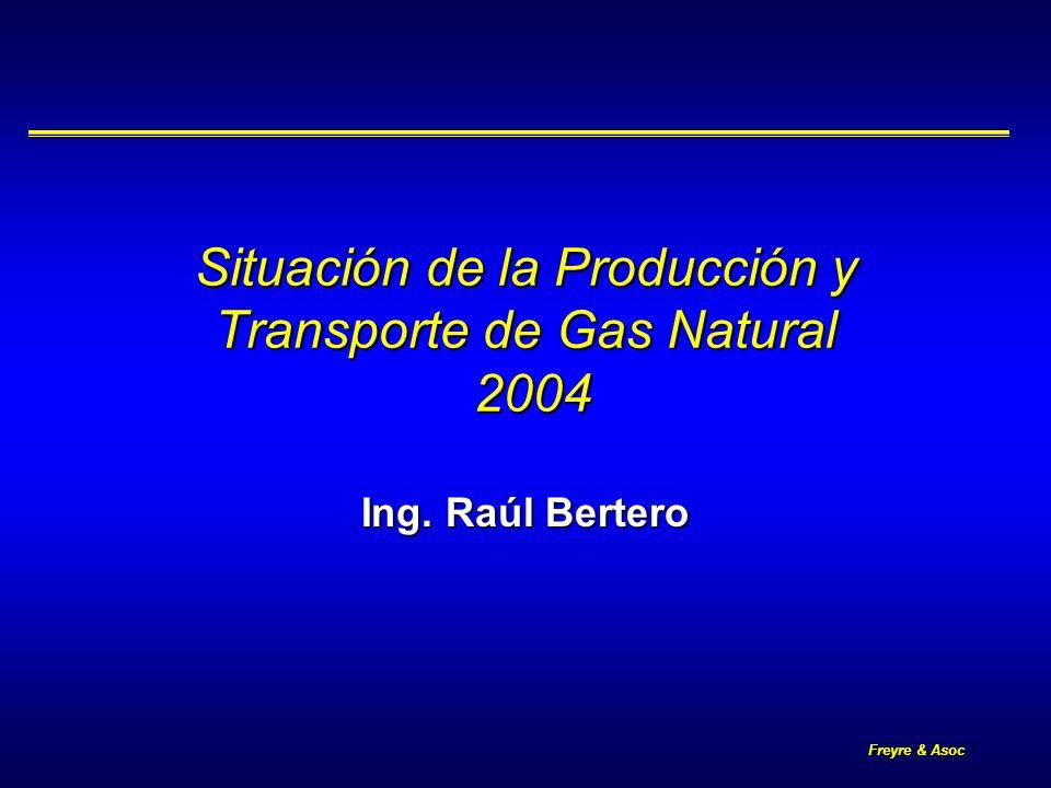 Freyre & Asoc 2 Situación de la Producción y Transporte de Gas Descripción de la crisis energética 2004 Descripción de la crisis energética 2004 Incremento de la demanda 2004 Incremento de la demanda 2004 Situación del sistema de transporte Situación del sistema de transporte Medidas tomadas por la Secretaría de Energía 2004/2005 Medidas tomadas por la Secretaría de Energía 2004/2005 Conclusiones Conclusiones
